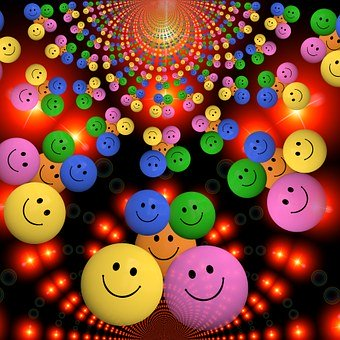Smiley, Laugh, Funny, Cheerful, Colorful